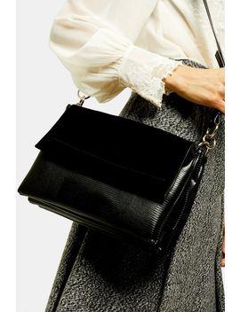 Faye Black Cross Body Bag by Topshop
