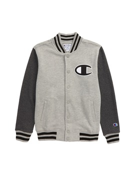 French Terry Varsity Jacket by Champion
