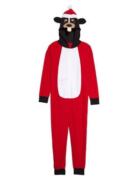 Santa Dog One Piece Hooded Pajamas by Tucker + Tate