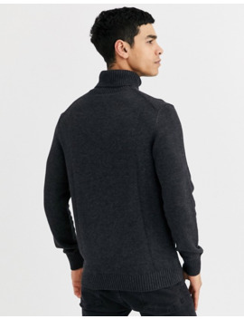 Celio Roll Neck In Grey by Celio