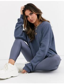 Asos Design – Kombiteil – Übergroßes, Superweiches Sweatshirt In Grau by Asos