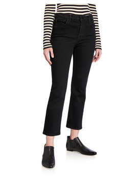 Tatum Cropped Straight Leg Jeans by Grlfrnd