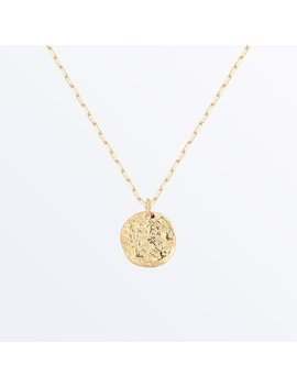 Small Textured Coin Necklace    Margot              Regular Price        Zł280 by Ana Luisa