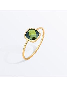 Stone Ring    Palace Olive Green              Regular Price        Zł355 by Ana Luisa