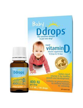 Baby Ddrops® Liquid Vitamin D3 Vitamin Supplement, 400 Iu by Walmart