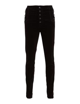 Natasha Sky High Velvet Skinny Pants by J Brand