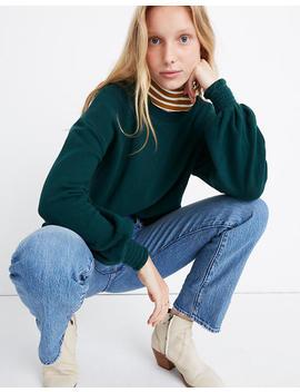 Smocked Cuff Sweatshirt by Madewell
