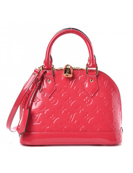 Louis Vuitton Vernis Alma Bb Hot Pink by Louis Vuitton
