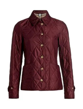 Fernleigh Quilted Jacket by Burberry