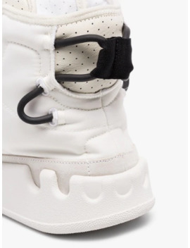 White Kasabaru High Top Sneakers by Y 3