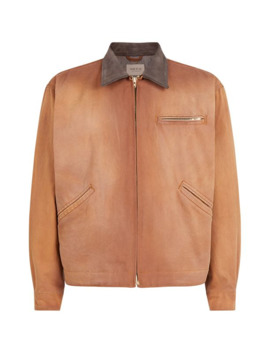 Suede Collar Jacket by Fear Of God