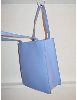 Baggu Medium Leather Retail Tote   Cornflower by Garmentory