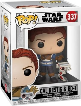Pop! Games Star Wars Jedi: Fallen Order! Cal Kestis With Bd 1 by Funko