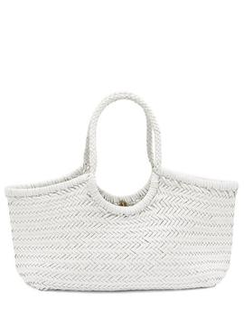 Nantucket Woven Leather Tote Bag by Dragon Diffusion