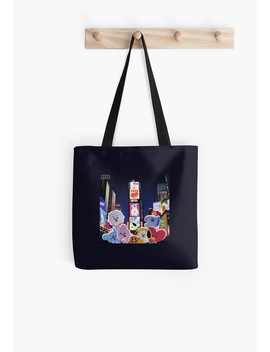 Bt21   Night In New York Tote Bag by Redbubble