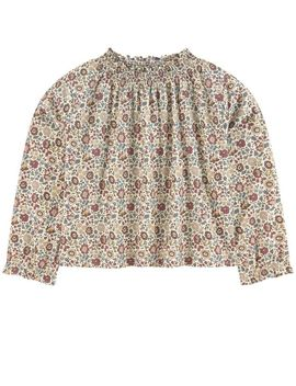 Liberty Print Blouse by Belle Enfant