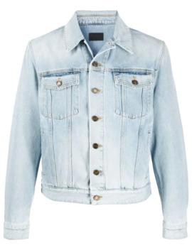 Washed Denim Jacket by Saint Laurent