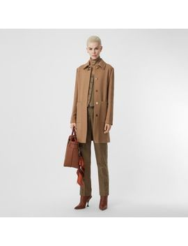 Double Faced Wool Tailored Coat by Burberry