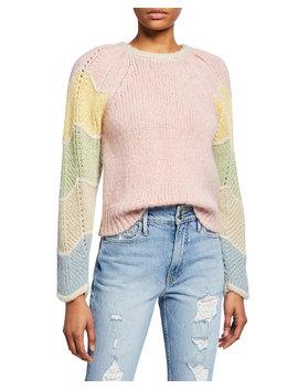 Aspyn Long Sleeve Alpaca Sweater by Love Shack Fancy