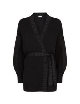 Wool Cashmere Cardigan by Moncler