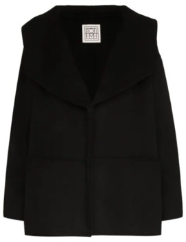 Annecy Oversized Collar Peacoat by Toteme