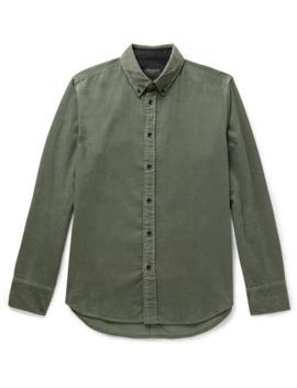 Tomlin Fit 2 Slim Fit Button Down Collar Cotton Corduroy Shirt by Rag &Amp; Bone