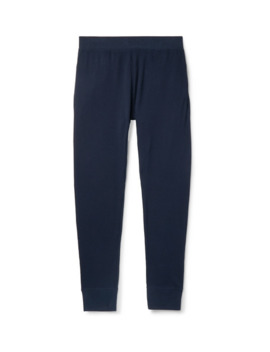 Waffle Knit Pima Cotton Jersey Pyjama Trousers by Handvaerk