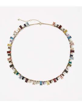 Rainbow Statement Necklace by Loft