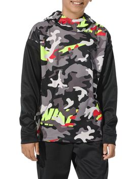 Nike Boys' Therma Camo Printed Hoodie by Nike