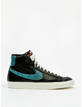 Blazer Mid 77 Vintage   Black/Light Aqua/Sail by Nike