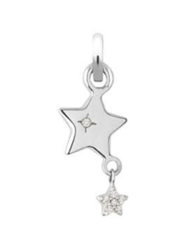 Wish Upon A Star 18ct White Gold Charm by Links Of London