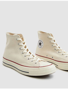 Chuck 70 Hi Top In Parchment by Converse Converse