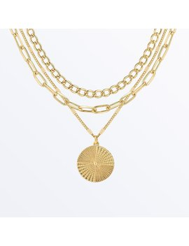 Layered Chain Necklace    Michelle Set              Regular Price        $115 by Ana Luisa