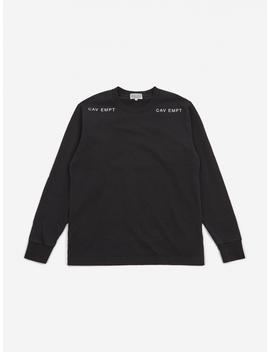 C.E Cav Empt Longsleeve T Shirt   Black by Cav Empt