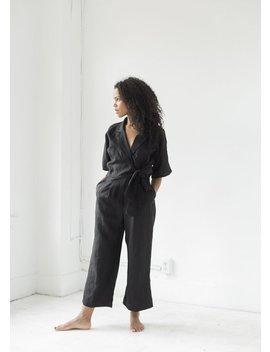Ozma Ella Jumpsuit   Black by Garmentory