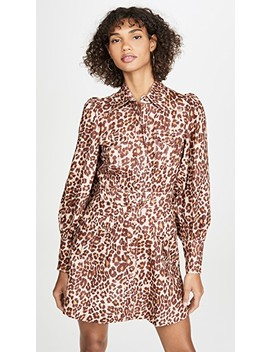 Resistance Safari Linen Shirtdress by Zimmermann