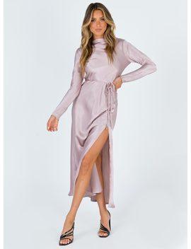 Bari Maxi Dress Champagne by Princess Polly