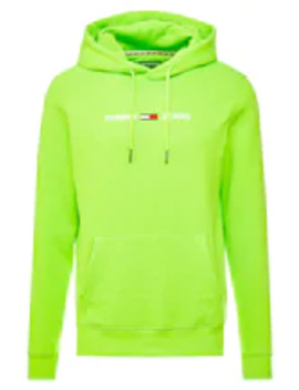 Neon Small Logo Hoodie   Sweat à Capuche by Tommy Jeans