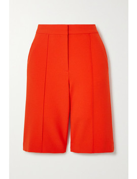 Stretch Crepe Shorts by Victoria, Victoria Beckham