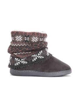 Rosie Bootie Slipper by Muk Luks