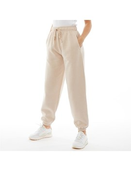 Pindydoll Womens Corey Oversized Joggers Stone by Pindydoll