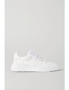 Wing Leather Sneakers by Givenchy