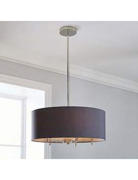 5 A Fifth Avenue Edmonton Nickel 5 Light Ceiling Fitting by Dunelm