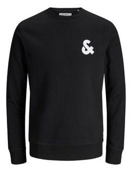 Logo Cotton Blend Sweatshirt by Jack & Jones