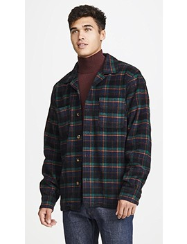 Classic Plaid Over Shirt by Woolrich