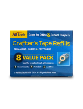 Ad Tech™ Crafter's Tape™ Refills Value 8 Pack by Adtech