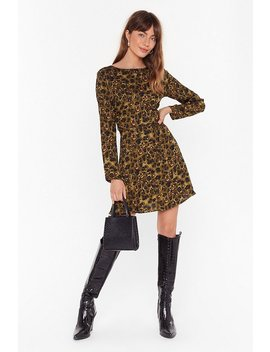 Like An Animal Relaxed Mini Dress by Nasty Gal