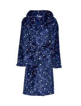 Navy Star Printed Robe by Dorothy Perkins