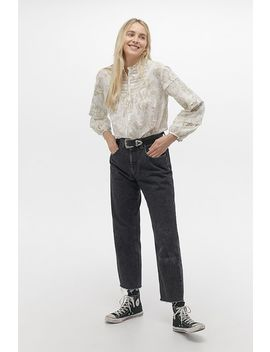 Laura Ashley Uo Exclusive Arianna High Neck Blouse by Laura Ashley