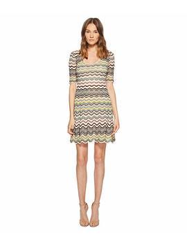 Wave Ripple Knit Dress by M Missoni